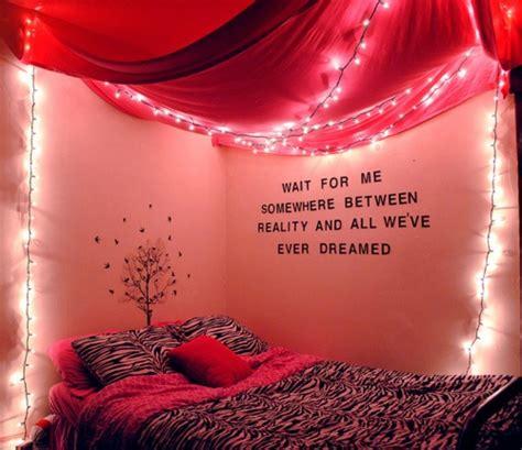 lights cute dorm wall decor quotes pink zebra
