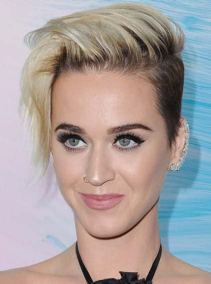 artistic katy perry hairstyles  celebrity hairstyles