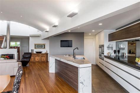 stunning open plan kitchen design completehome