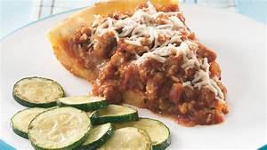 Italian Sausage Mashed Potato Pie recipe from Pillsbury com