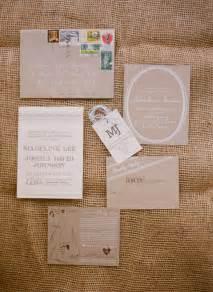 wedding invitation paper madeline josh 39 s rustic kraft paper tennessee wedding invitations