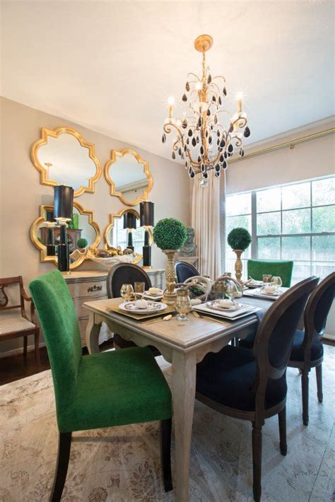 dining rooms  mismatched dining chairs