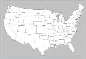 Printable Blank Us Maps United States