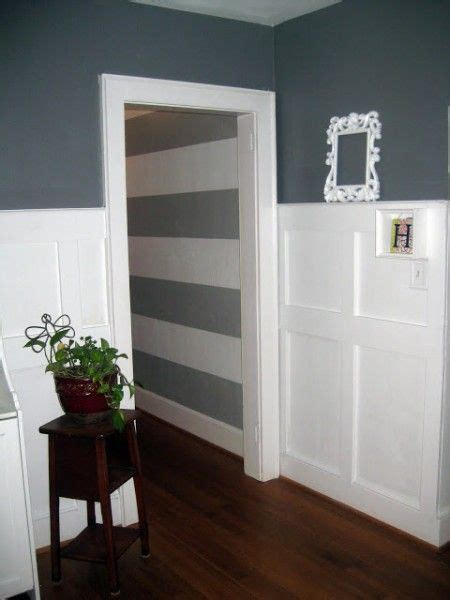 Wainscoting Square Panels by Stacked Square Wainscoting La La Land On Remodelaholic