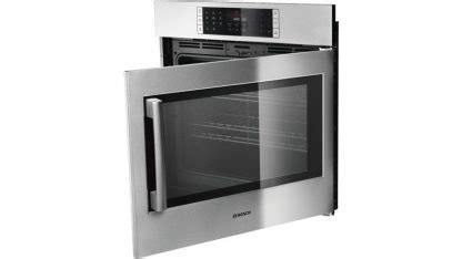 benchmark  single wall oven  side opening door hblpruc stainless steel