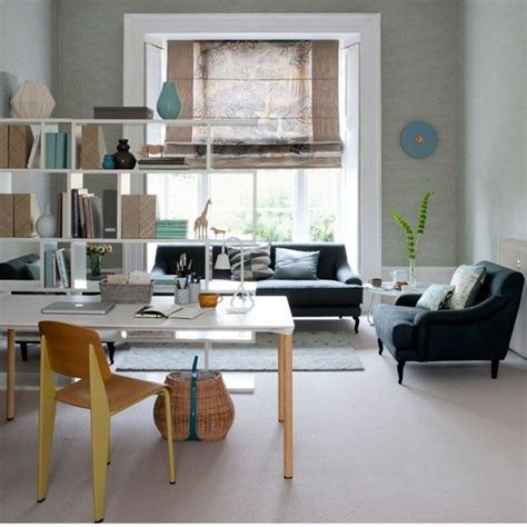 Living Room Shelving Plans by Open Plan Home Office Open Plan Multifunctional And