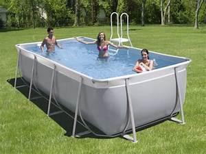 Piscine Tubulaire Hors Sol : piscines hors sol zodiac original les rectangulaires ~ Melissatoandfro.com Idées de Décoration