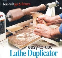 lathe duplicator  shopnotes    woodworking