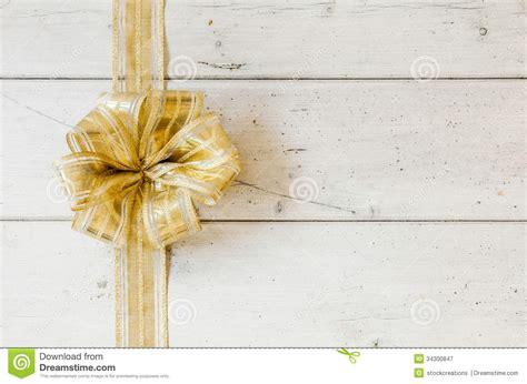 metallic gold decorative christmas bow royalty  stock photography image