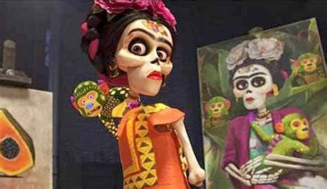 Frida Kahlo Inspired 'coco' Voice Actor To Speak Out