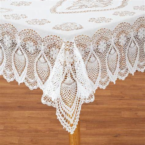 vinyl lace tablecloths vinyl lace tablecloth vinyl tablecloth kitchen walter drake