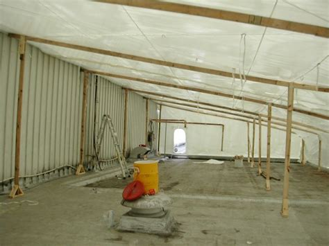 containment ceiling shrink wrap services products zap