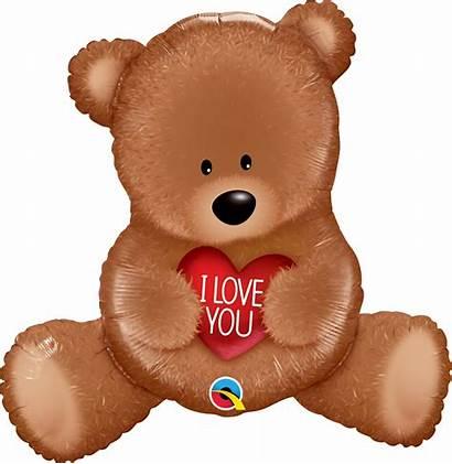 Teddy Bear Mylar Heart Colorado