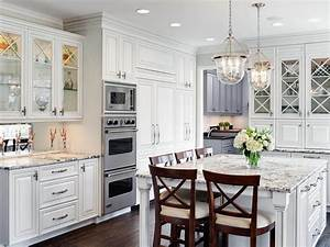 White, Traditional, Kitchen, Cabinets, -, Theydesign, Net