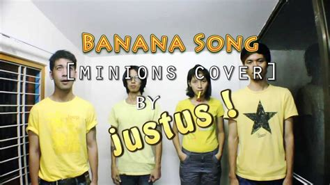 Banana Song Minions Coverdespicable Me 2 Trailer Cover