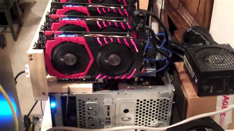 Just like gold or silver, bitcoins are mined and their supply is limited. Old Desktop Computer Bitcoin Mining RIG   easy budget set up - YouTube