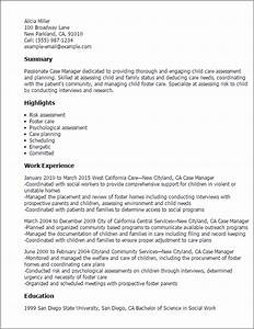 case manager resume template best design tips With case manager resume samples
