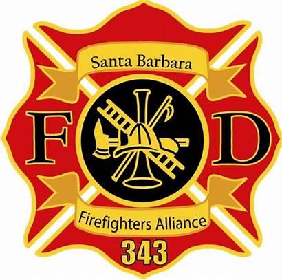 Fire Firefighters Barbara Santa Ball Causes Associates