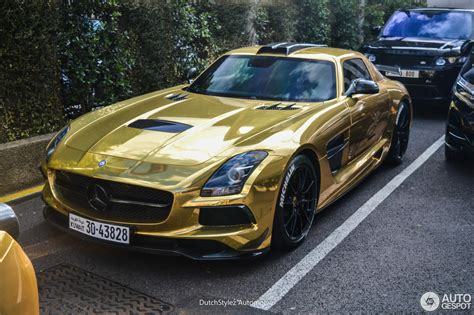 Mercedesbenz Sls Amg Black Series  28 August 2016