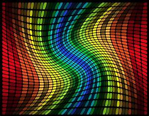 Abstract, Multicolored, Graphic, Equalizer, Vector