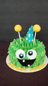 Monster Smash Cake - CakeCentral com