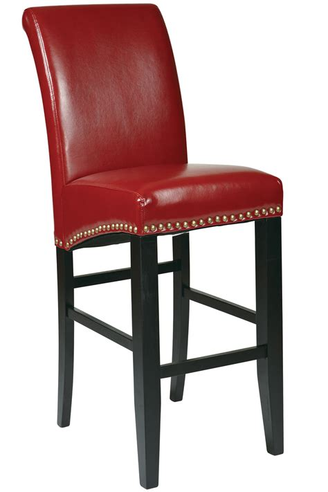met8730rd office 30 quot traditional parsons bar stool