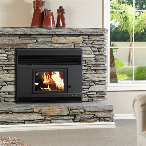 inbuilt wood fires nz mid size clean air fireplace