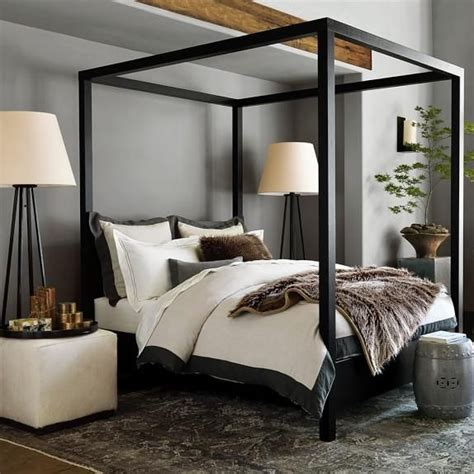 black canopy bed drapes 25 best ideas about canopy beds on