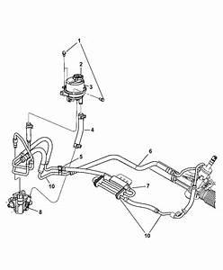 2004 Chrysler Pacifica Power Steering Hose