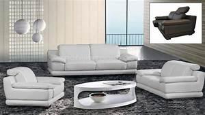 Canapé Cuir Fauteuil : photos canap fauteuil cuir ~ Premium-room.com Idées de Décoration