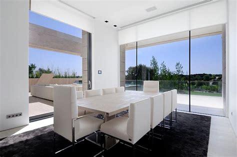 Home Design White Dining Room
