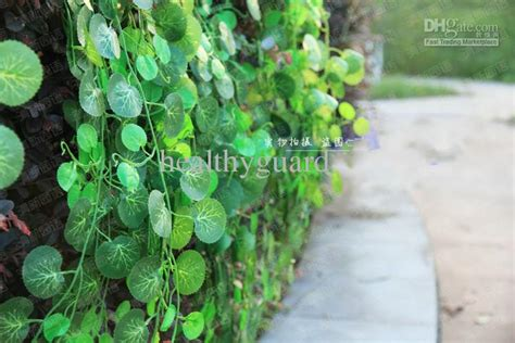 Artificial Climbing Vines Geen Plants Artificial Silk