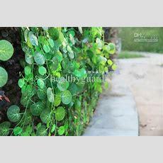 Artificial Climbing Vines Geen Plants Artificial Silk
