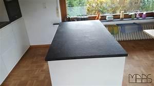 Granit Nero Assoluto : die eco antik oberfl chenbearbeitung einer granit arbeitsplatte aus dem material nero assoluto ~ Sanjose-hotels-ca.com Haus und Dekorationen