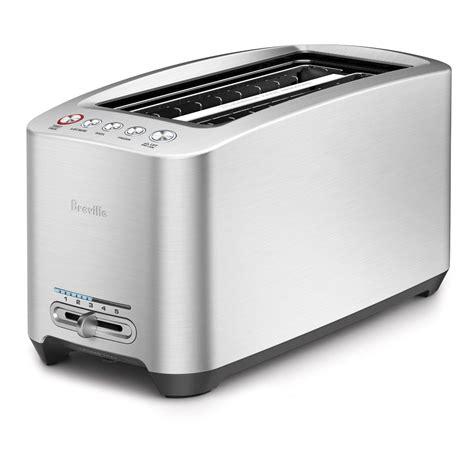 one slot toaster breville bta830xl die cast 4 slice slot