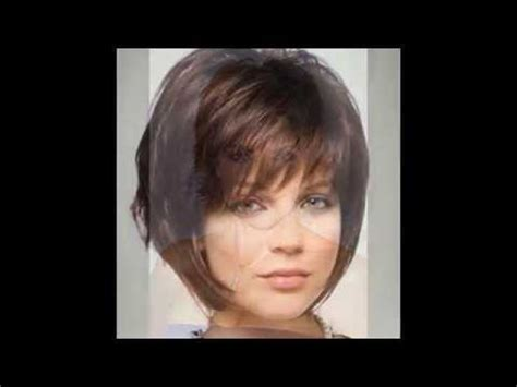 short hairstyles for faces over 40 youtube