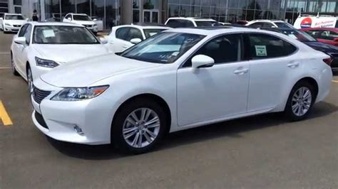 lexus white 2014 new white on black 2014 lexus es 350 fwd elegance