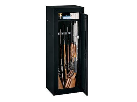 Stack On In Wall Gun Cabinet - stack on 14 gun security cabinet without side wall foam black