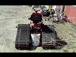 Lawn Tractor Skid Steer Mock Up