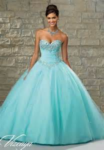 wedding dressing tulle with basque waist and beaded bodice quinceanera