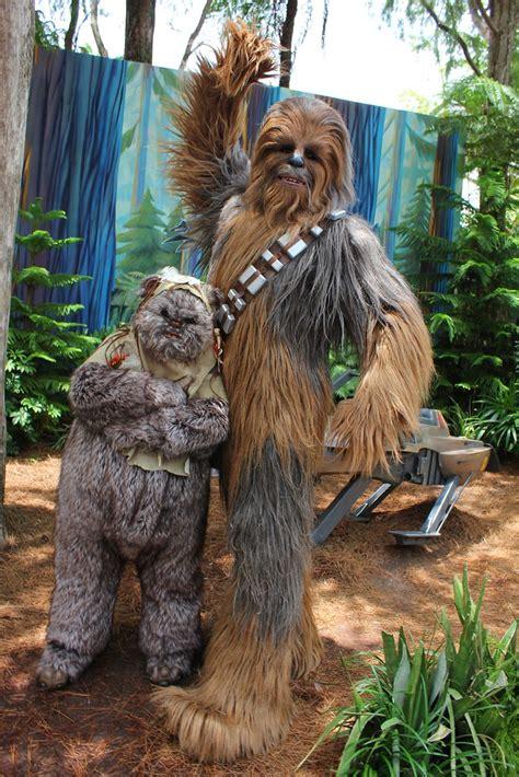 ewok  chewbacca   magic flickr