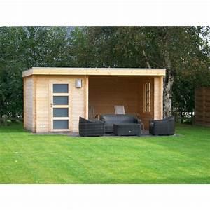 Chalet De Jardin Contemporain : mimas prima abris pool house en bois chalet center ~ Premium-room.com Idées de Décoration
