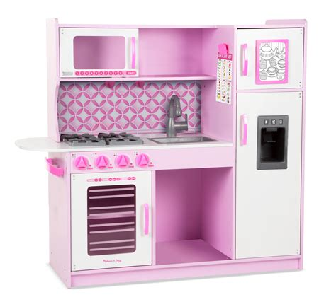 Amazoncom Melissa & Doug Chef's Kitchen Pretend Play Set