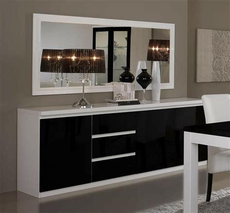 cuisine noir et bois 40 idées pour votre intérieur avec le bahut noir laqué