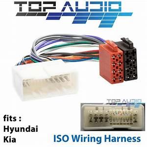 Fit Hyundai Accent Iload Imax Sonata Iso Wiring Harness