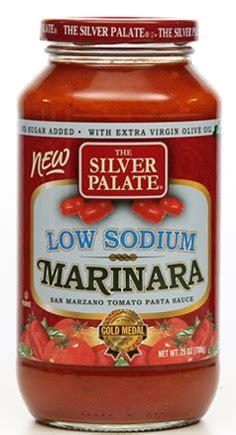 silver palate  sodium marinara pasta sauce