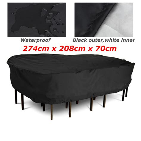 274x208x70cm patio garden outdoor furniture cover large