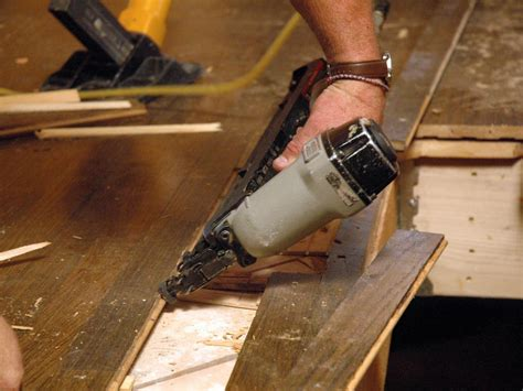 how to nail wood flooring how to repair hardwood plank flooring how tos diy