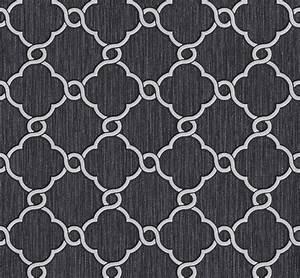 Tapete Ornamente Grau : tapete vlies glitzer ornamente schwarz grau p s 02493 10 ~ Buech-reservation.com Haus und Dekorationen