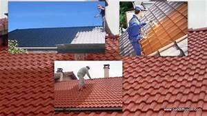 Peinture Pour Toiture : nettoyage d 39 une toiture comment nettoyer son toit ~ Melissatoandfro.com Idées de Décoration